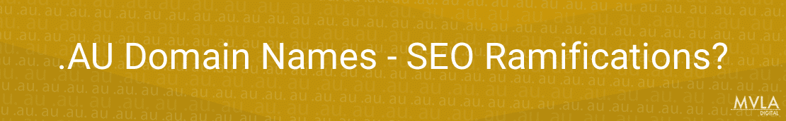 au domains seo ramifications